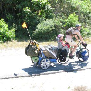 Michel Duval aventurier vélo